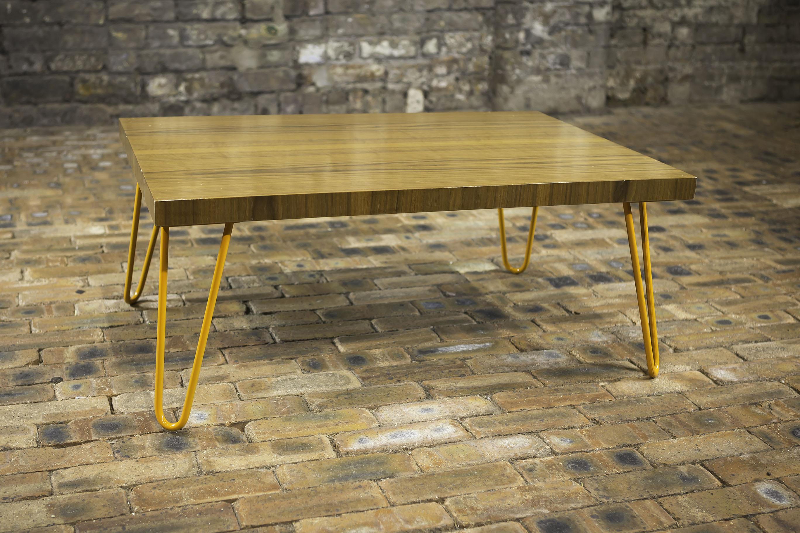 Hairpin leg coffee table Adrian Reynolds