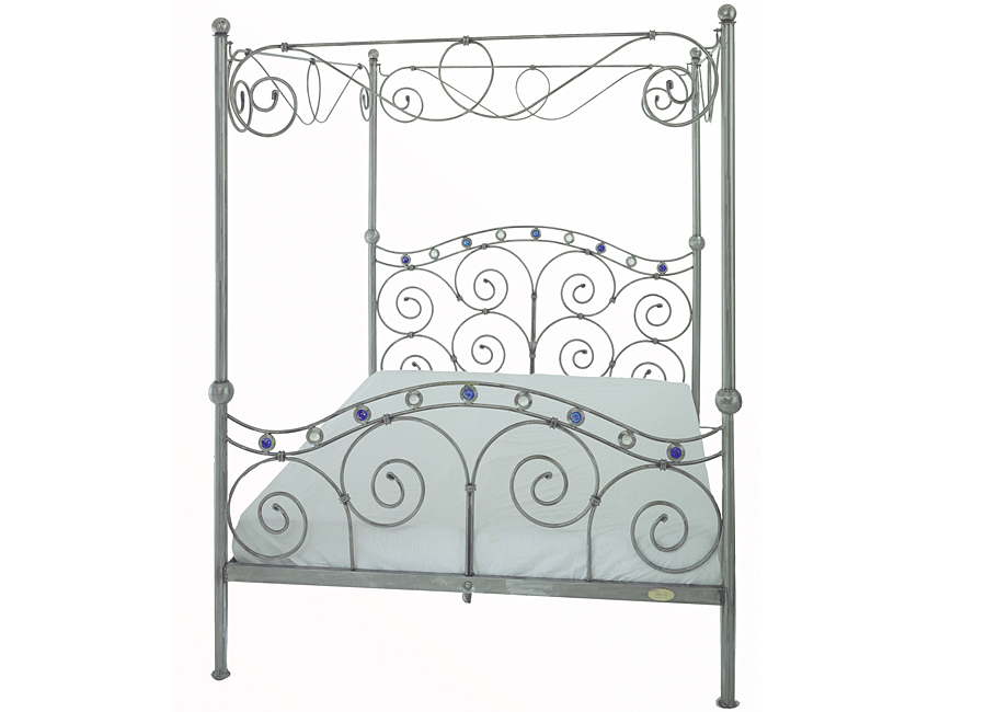 Four Poster Bed Adrian Reynolds Bespoke Beds Metal Furniture