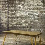 Hairpin leg coffe table